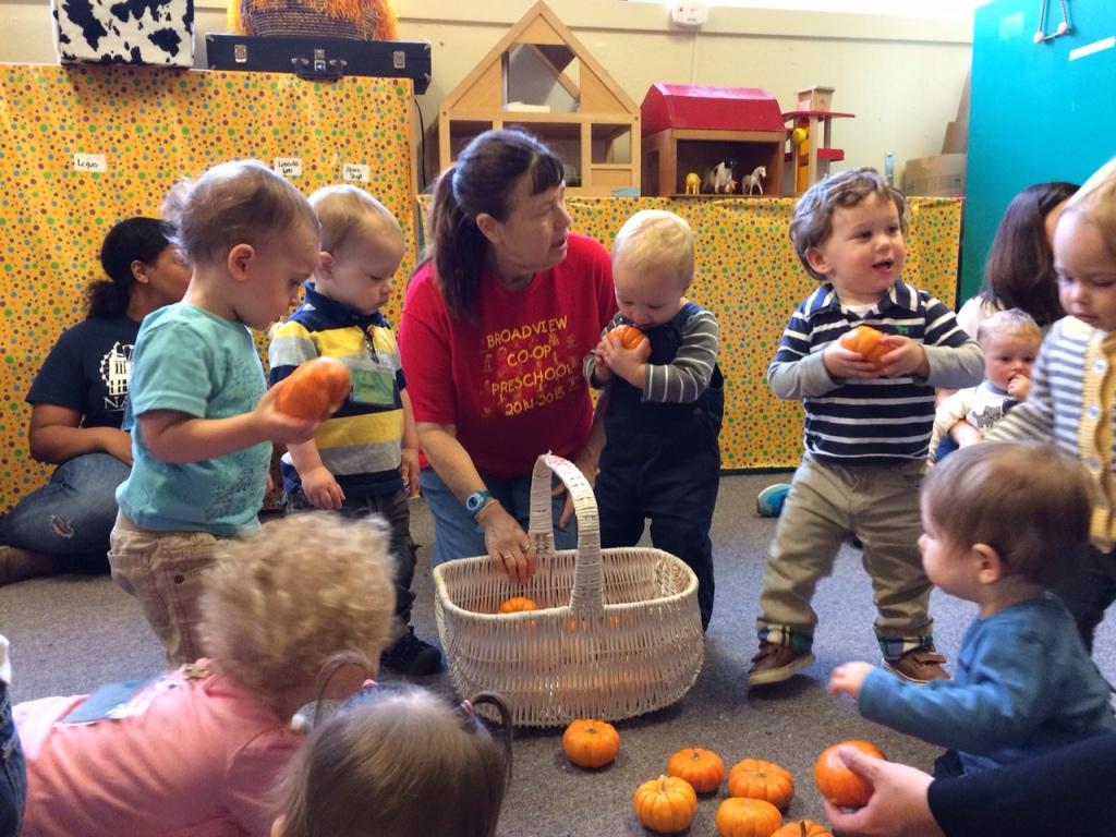 Toddler Co-Op Preschool in Broadview Seattle with Teacher Charlotte