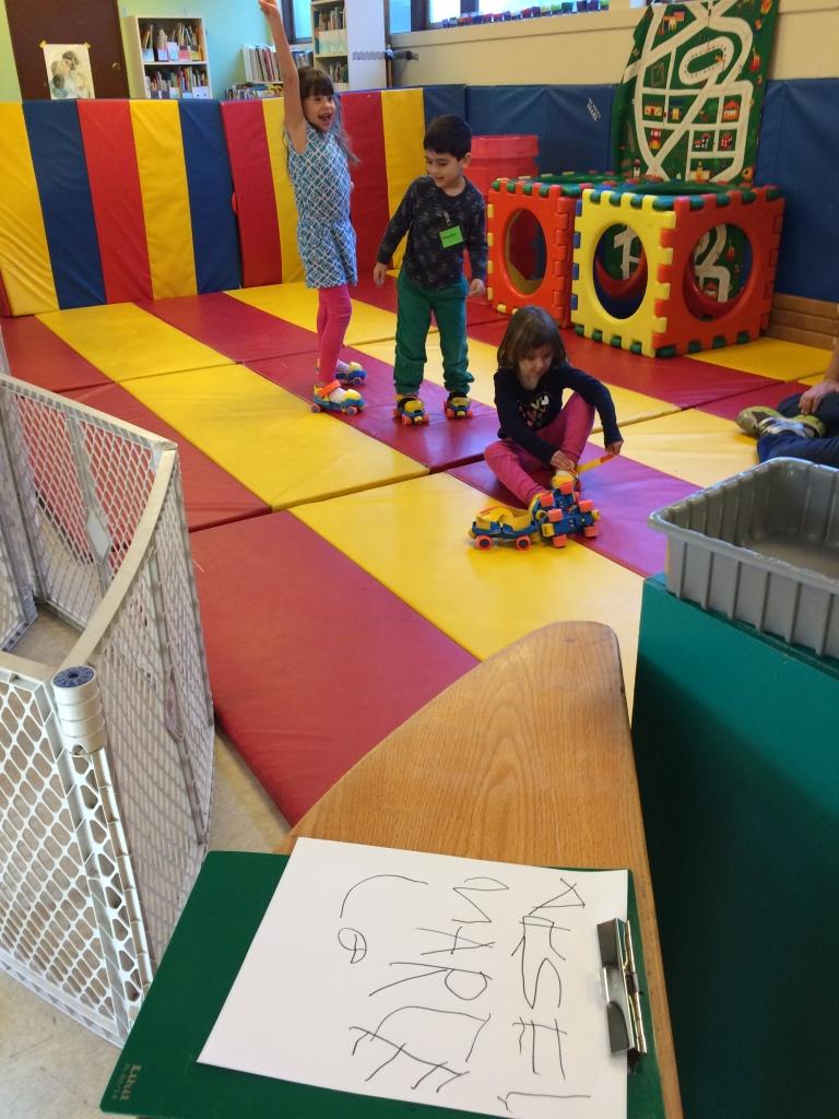broadview coop preschool 3-5's free choice play time
