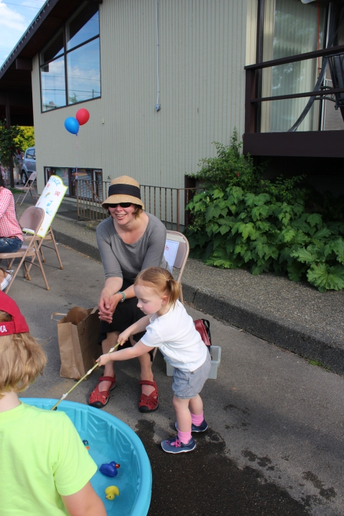 Teacher Erin Broadview Coop Preschool Spring Carnival