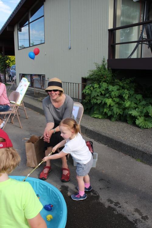 Teacher Erin Broadview Coop Preschool Spring Carnival